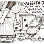 Alberto João outra vez a fazer buracos na Madeira…