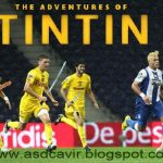 "As aventuras do… Tintin – Hulk, do FC do Porto, pintou o cabelo de loiro para entrar no filme ""As Aventuras de Tintin"""