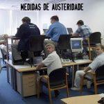 Medidas de austeridade no emprego