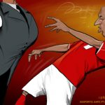 Cartoon – Encosto de Luisão ao Árbitro