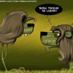 Cartoons – Sporting – As duas faces