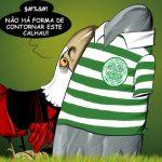 Cartoons – Nenhum caminho vai dar a Glasgow – Sporting – Benfica