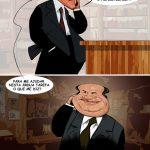 Cartoons – Pedro Passos Coelho e Vale e Azevedo juntos a governar o país