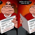Cartoons – Benfica vence FCP em andebol, agora só falta vencer usando os pés