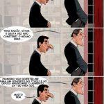 Cartoon – Manifestação de 15 de Setembro – Pedro Passos Coelho e Vítor Gaspar