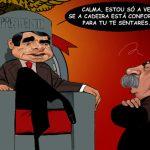 Cartoons – Luís Filipe Vieira e José Eduardo Moniz no Benfica