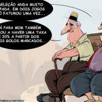 Cartoons – Crise chega à seleção
