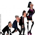 Cartoons – A evolução da espécie política