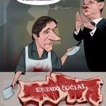 Cartoons – Pedro Passos Coelho e António José Seguro – O Estado Social