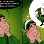 Cartoons – A prenda do Pai Natal para o Sporting