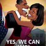 Cartoons – A vitória de Barack Obama