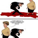 Cartoons – A vénia de Pedro Passos Coelho a Angela Merkel