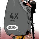 Cartoons – Vítor Gaspar e a sobretaxa extraordinária de IRS de 3,5%