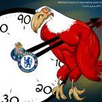 Cartoons – As duas derrotas do Benfica – Porto – Chelsea