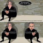 Cartoons – José Mourinho e Jorge Jesus no muro das lamentações