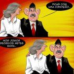 Cartoons – Jorge Jesus e Luis Filipe Vieira – Benfica