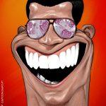 Cartoons – O novo salário e os novos óculos de Cristiano Ronaldo