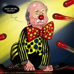 Cartoons – Joseph Blatter – Presidente da FIFA – O palhaço