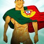 Cartoons – Cristiano Ronaldo – O novo herói de Portugal
