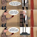 Cartoons – O elevador secreto do major Valentim Loureiro – Câmara de Gondomar
