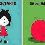 Cartoons – O antes e o depois