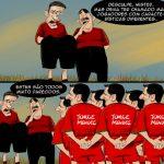 Cartoons – Os convocados de Paulo Bento para o Mundial do Brasil
