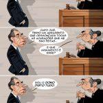 """Cartoons – A """"prisão"""" de Ricardo Salgado do BES"""