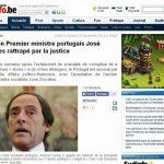 Fail – Jornal belga troca José Sócrates por Paulo Portas