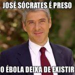 Cartoons – José Sócrates e o Ébola