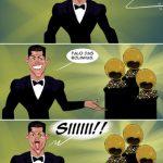 Cristiano Ronaldo e as bolinhas