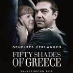 As 50 sombras da Grécia – Angela Merkel e Alexis Tsipras
