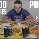 A dieta do Michael Phelps – 12000 calorias