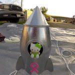 A Hello Kitty foi dar uma volta até ao espaço