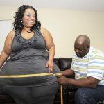 A mulher com as maiores ancas do mundo