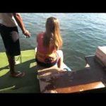 A primeira vez de wakeboard custa a todos