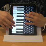 Acordeão no iPad