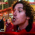 Adepto do Benfica possuído dá entrevista à Benfica TV antes do Clássico