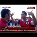 Adepto possuído volta a atacar – Benfica vs Barcelona – Sócio que é sócio ganha sempre – Benfica TV