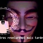 Anonymous deixa uma mensagem aos portugueses