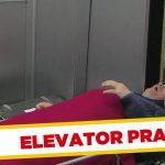 Apanhados – A cabeça presa na porta do elevador