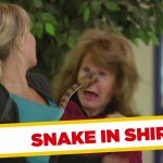 Apanhados – A cobra dentro da camisola