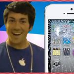Apanhados – Deixar cair os novos Iphone5