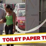 Apanhados – O rolo de papel da casa de banho