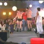 Apanhados – Sílvio Santos – Provador – Striptease masculino