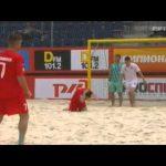 Autogolo em futebol de praia