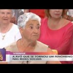 Avó Virinha no programa Você na TV da TVI – 21/06/2016