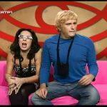 Cátia e Miguel no confessionário – Casa dos Degredos – Estado de Graça – RTP1