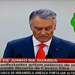 Cavaco Silva desmaia durante as cerimónias do 10 de Junho – Vídeo