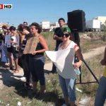 Cavaleiro Marcelo Mendes ataca manifestantes contra a tourada na Torreira