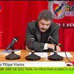 César Mourão imita Presidente do Benfica Luís Filipe Vieira – SIC